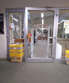 barrieretürbibliothek